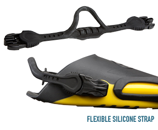 Elite Fin FN7 Flexible Silicone Strap